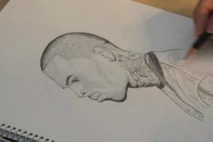 Chris Brown Drawing Time-Lapse