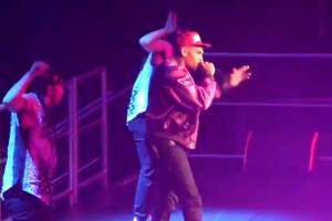 Chris Brown – Live at Wild Jam (Deuces)