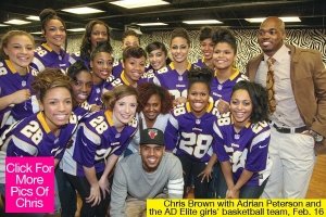 Chris Brown Helps to Raise $50,000 For Domestic Violence