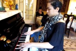 """Karina Pasian Learning Chopin """"Fantasie"""" Impromptu, Op. 66"""