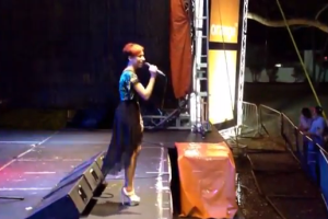 Kristina Pasian Performs 16 @ War Live In the D.R.