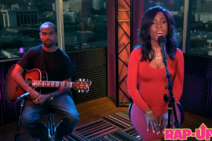 Sevyn Streeter Performs for Rap-Up Sessions
